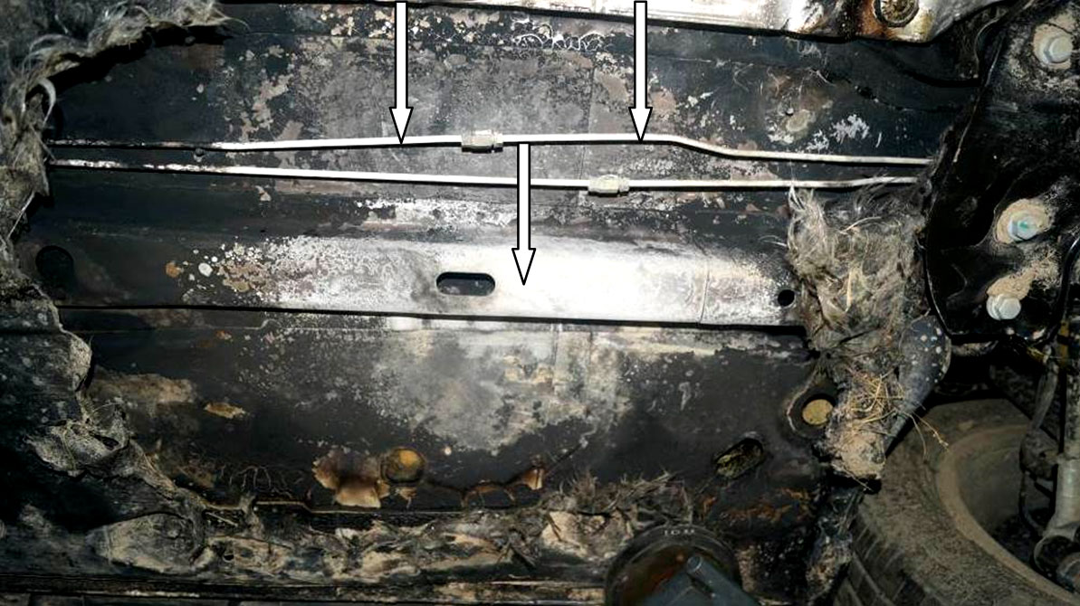 Возгорание автомобиля от катализатора